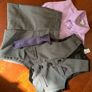 Starting Out Matching Sets - Toddler 4 Piece Suit- Great for Easter